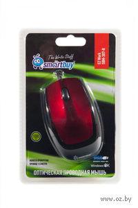 Оптическая мышь SmartBuy 307 (Red)