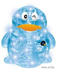 """Пазл """"3D Crystal Puzzle. Пингвин светящийся"""" (63 элемента)"""