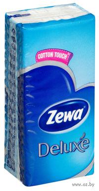 """Бумажные носовые платочки ZEWA """"Deluxe"""""""