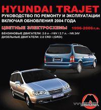 Hyundai Trajet 1996-2006 г. (+ обновления 2004 г.) Руководство по ремонту и эксплуатации