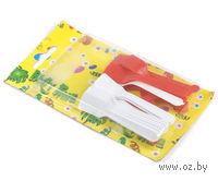 Набор ложек для мороженого пластмассовых (24 шт, 8,5 см)