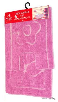 Набор ковриков текстильных (2 шт.; 40х60/40х40 см; арт. S-0050)