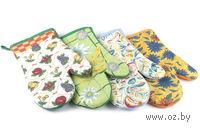Рукавица-прихват текстильная для горячих предметов (260х170 мм)