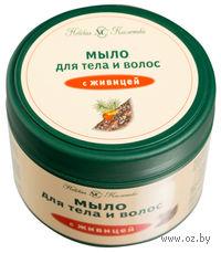 Мыло для тела и волос с живицей (300 мл)