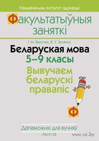 Беларуская мова. 5-9 класы. Вывучаем беларускі правапіс. А. Волочко