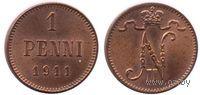 1 пенни 1911