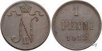 1 пенни 1912