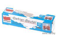 Набор пакетов для замораживания полиэтиленовых (100 шт. по 1 л; 18х25 см)