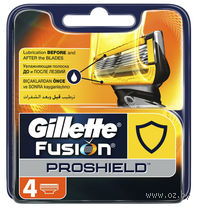 "Кассета для станка ""Gillette Fusion ProShield"" (4 шт)"