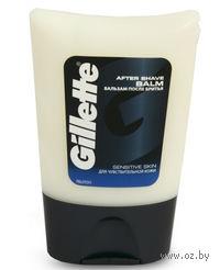 """Бальзам после бритья Gillette Sensitive skin """"Для чувствительной кожи"""" (75 мл)"""