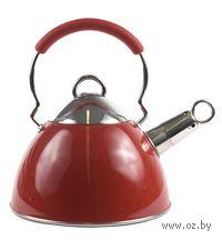 Чайник металлический со свистком