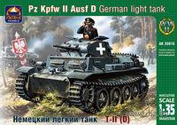 Немецкий легкий танк Pz.Kpfw.II Ausf.D (масштаб: 1/35)