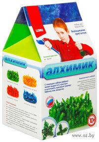 """Набор для выращивания кристаллов """"Зеленый кристалл"""""""