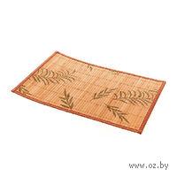 Подставка сервировочная бамбуковая окрашенная (30*45 см, арт. 4900033)
