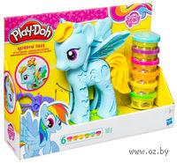 """Набор для лепки """"Play-Doh. Стильный салон Рейнбоу Дэш"""""""