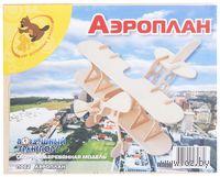 """Сборная деревянная модель """"Аэроплан"""""""