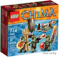 """LEGO. Chima. """"Лагерь Клана Крокодилов"""""""