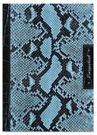 """Ежедневник недатированный """"Питон"""" (А5, 288 страниц, черно-бирюзовый)"""