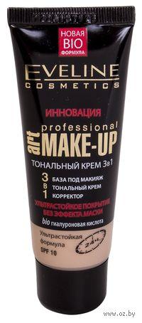 Тональный крем 3 в 1 Art Professional Make-Up (тон: светлый бежевый; 30 мл)
