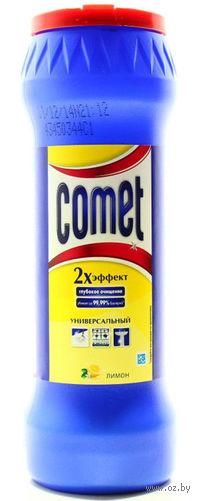 """Чистящий порошок COMET """"Лимон"""" c хлоринолом в банке (475 г.)"""