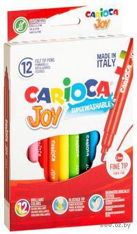 """Фломастеры """"Carioca Joy"""" (12 штук)"""