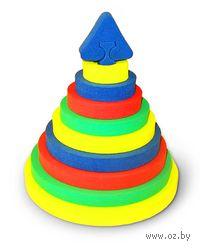 """Развивающая игрушка """"Пирамида-круг"""""""
