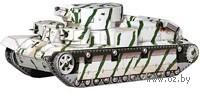 """Сборная модель из бумаги """"Советский средний Танк Т-28"""" (масштаб: 1/35)"""