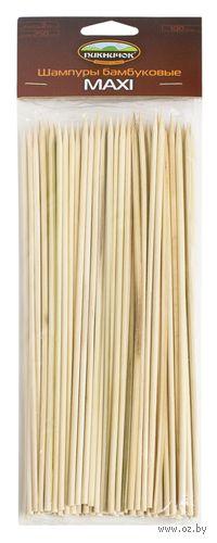 """Шампуры """"Бамбуковые"""" (100 шт; 25 см)"""