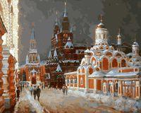 """Картина по номерам """"Перед Рождеством"""" (500х400 мм)"""