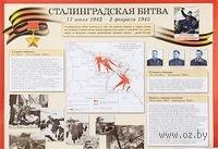 Сталинградская битва. Плакат. Елена Пудовина