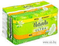Женские гигиенические прокладки NATURELLA Ultra Normal (40 штук)
