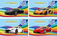 """Альбом для рисования """"Super Car"""" (А4; 20 листов; ассорти)"""