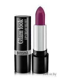 """Помада для губ """"Glam look cream velvet"""" (тон: 308, черный пунш)"""