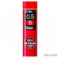 "Грифели для автоматического карандаша ""Pentel AIN STEINE"" (Твердость: B; 0,5 мм)"