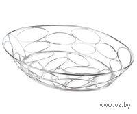 Подставка для фруктов металлическая (32х22х6,5 см)