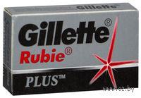 Лезвия Gillette Rubie Platinum Plus (5 штук)