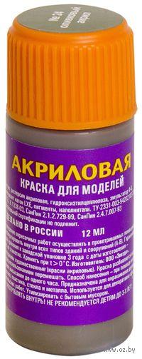 Акриловая краска для моделей (Оливковая, АКР24)