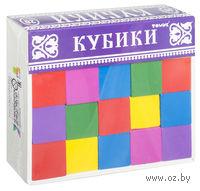 """Кубики """"Цветные"""" (20 штук)"""