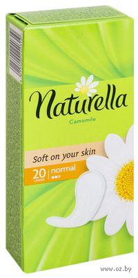 Ежедневные прокладки NATURELLA Normal Deo (20 шт)