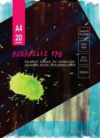 Альбом для акварели (А4; 20 листов)