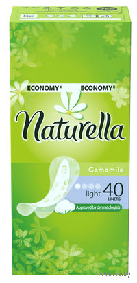 Женские гигиенические прокладки на каждый день NATURELLA Light Deo (40 штук)