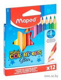 Цветные мини-карандаши