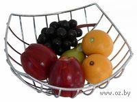 """Подставка для фруктов металлическая """"TORO"""" (24*24*11 см, арт. 320184)"""
