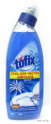 """Гель для чистки унитазов """"Морской"""" (750 мл)"""