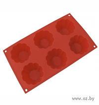 Форма для выпекания кексов силиконовая (29*17*3,5 см)