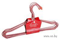 Набор вешалок для одежды металлических (8 шт, 27 см, арт. 310378)