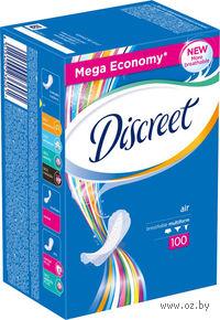 Женские гигиенические прокладки DISCREET Air (100 штук)