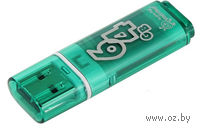 USB Flash Drive 64Gb SmartBuy Glossy series (Green)