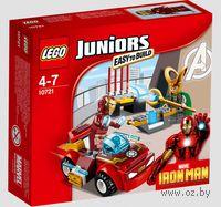 """LEGO Juniors """"Железный человек против Локи"""""""
