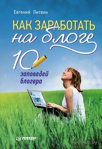 Как заработать на блоге. 10 заповедей блогера. Евгений Литвин